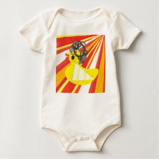 Disco Ducky Organic Babygro Baby Bodysuits