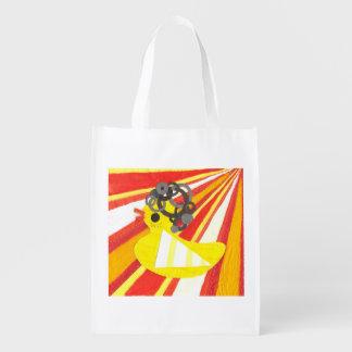 Disco Ducky Reusable Bag