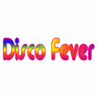 Disco Fever 2 Keychain Photo Sculpture Key Ring