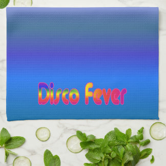 Disco Fever 2 Tea Towel