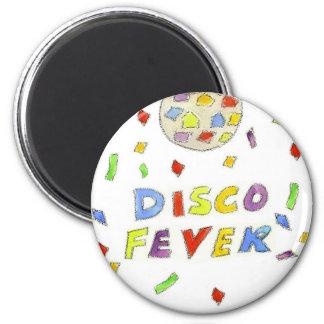 Disco Fever 6 Cm Round Magnet