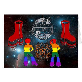 Disco Fever Card