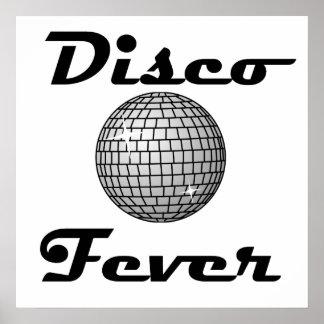 Disco Fever Disco Ball Print