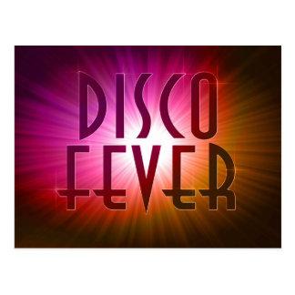 Disco Fever Postcard Postcards