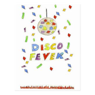 Disco Fever Postcard