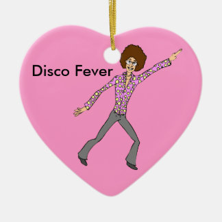 Disco Fever Relive the memories Christmas Ornament