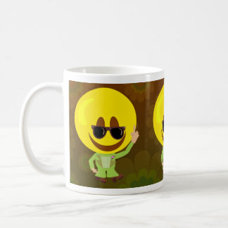 Disco Fever Smiley Guy Coffee Mug