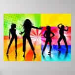 Disco Girls Poster
