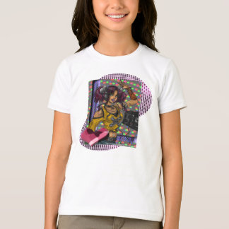 Disco -  Girls Ringer T-Shirt