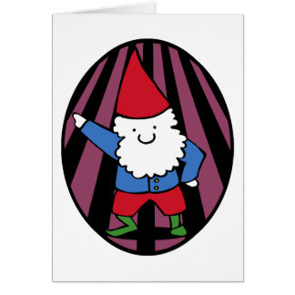 Disco Gnome Night Fever Card