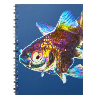 Disco Goldfish Notebooks