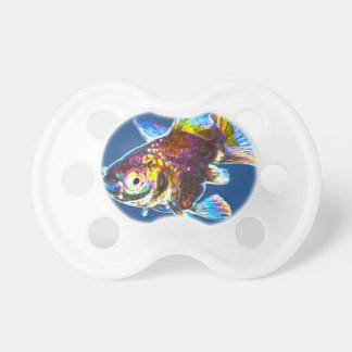 Disco Goldfish Pacifiers