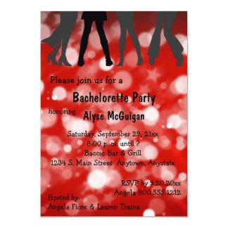 Disco Inferno Bachelorette Party Invitation