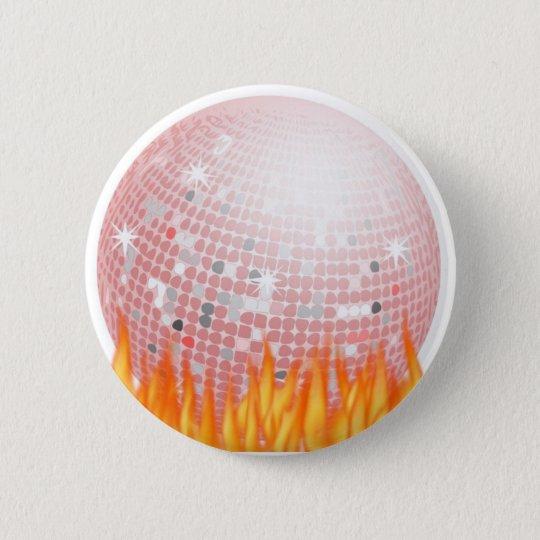 Disco Inferno Button