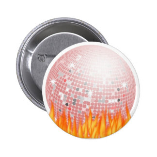 Disco Inferno Button