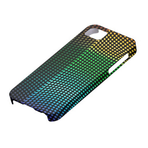 Disco Light Night Club Looks Colours Rainbow iPhone 5 Case