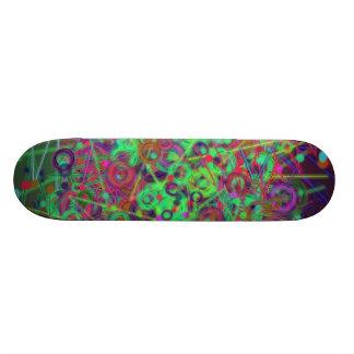 Disco Lighting Skateboard