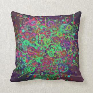 Disco Lighting Throw Pillow