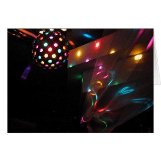 Disco Lights Greeting Card