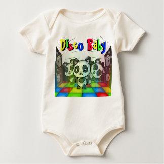 Disco Panda Babygrow Bodysuits