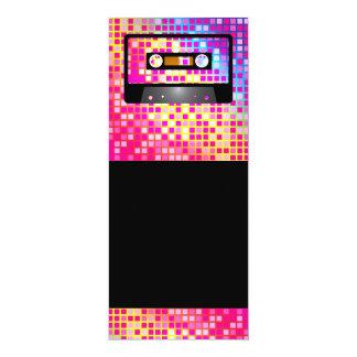 Disco Party 10 Cm X 24 Cm Invitation Card
