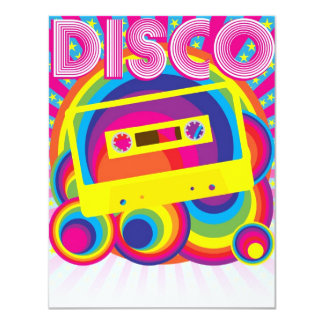 Disco Party Card