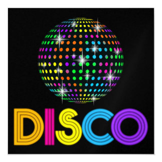 DISCO Party - SRF Card