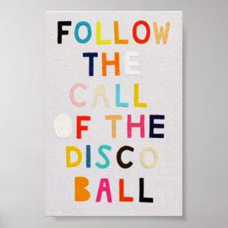 Disco Poster