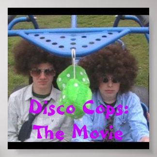 disco poster, Disco Cops:The Movie Poster