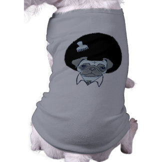 Disco Pug dog shirt/sweater Sleeveless Dog Shirt