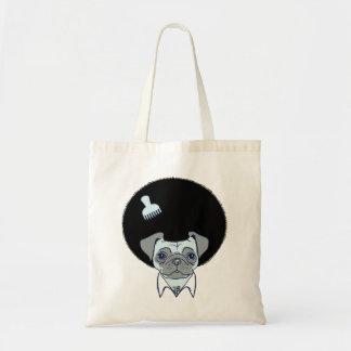 Disco Pug tote bag