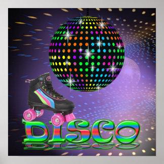 DISCO Skates - SRF Poster