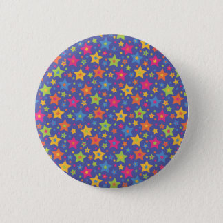 Disco Stars 6 Cm Round Badge