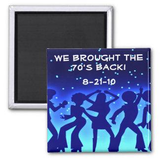 Disco Theme 70's Party Favor Magnets Souvenirs