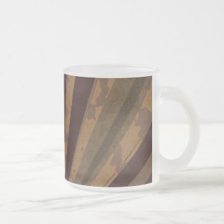 DiscoloRay Frosted Glass Mug