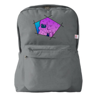 Disconnect Face Melt Backpack