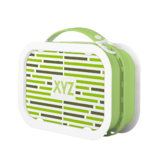 Disconnected Stripes custom lunch box