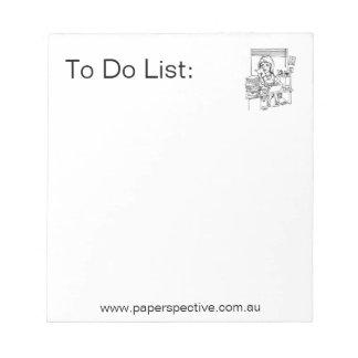 Discordia - To Do List Scratch Pads