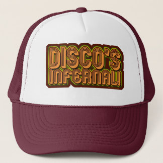 Discos Infernal Trucker Hat