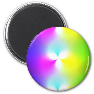 DiscoTech 3 6 Cm Round Magnet