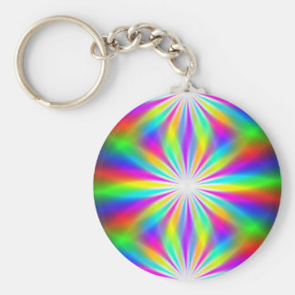 DiscoTech 4 Basic Round Button Key Ring