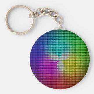 DiscoTech 5 Basic Round Button Key Ring