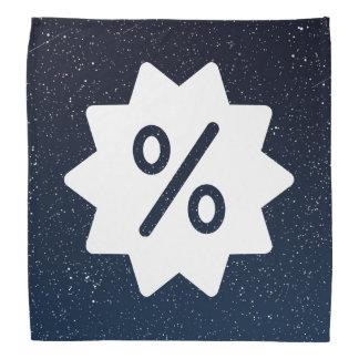 Discount Offs Symbol Bandanna