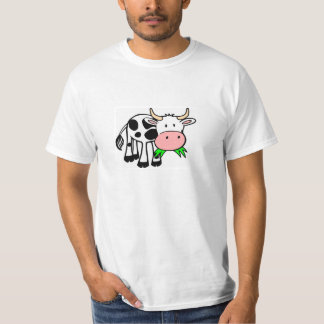 """Discount T-shirt knows """"merry cow """""""