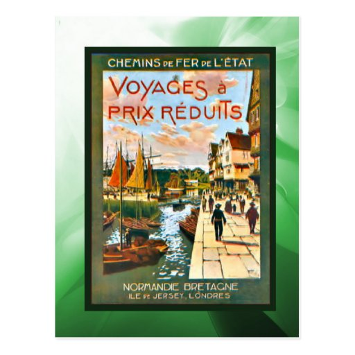 Discount trips to Brittany and Normandy Post Card