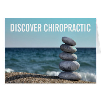 Discover Chiropractic Note Cards