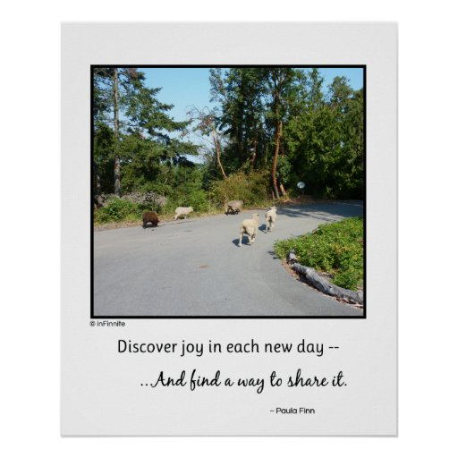 Discover joy in each new day...Poster