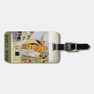 Discover Life:  Bon Voyage Luggage Tag