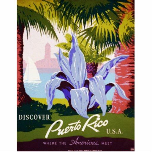Discover Puerto Rico Photo Sculpture