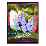 Discover Puerto Rico Post Cards